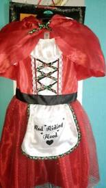 GIRL'S LITTLE RED RIDING HOOD COSTUME FOR SALE