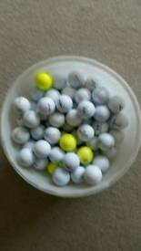 85 assorted makes of golf balls £15
