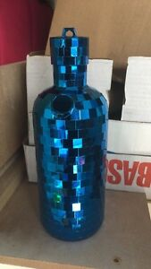 Vodka Bottle Disco Ball Plastic Mirror Case