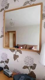 Ikea oak effect Mirror
