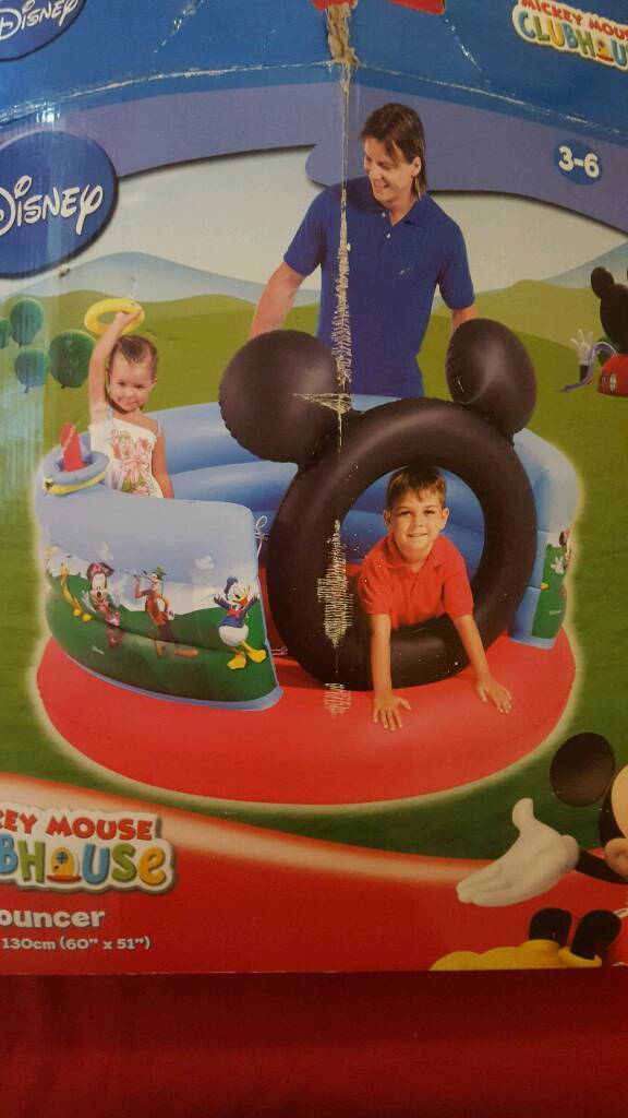 Bouncing castle Mickey mouse