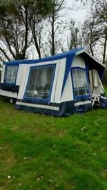 2 Berth Suncamp trailer tent