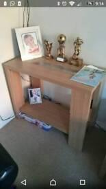 Tall thin table