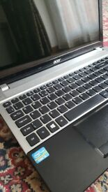 for sale a acer laptop 15.6 display 750 GB HDD 4 GB RAM CORE I3 PROCESSOR
