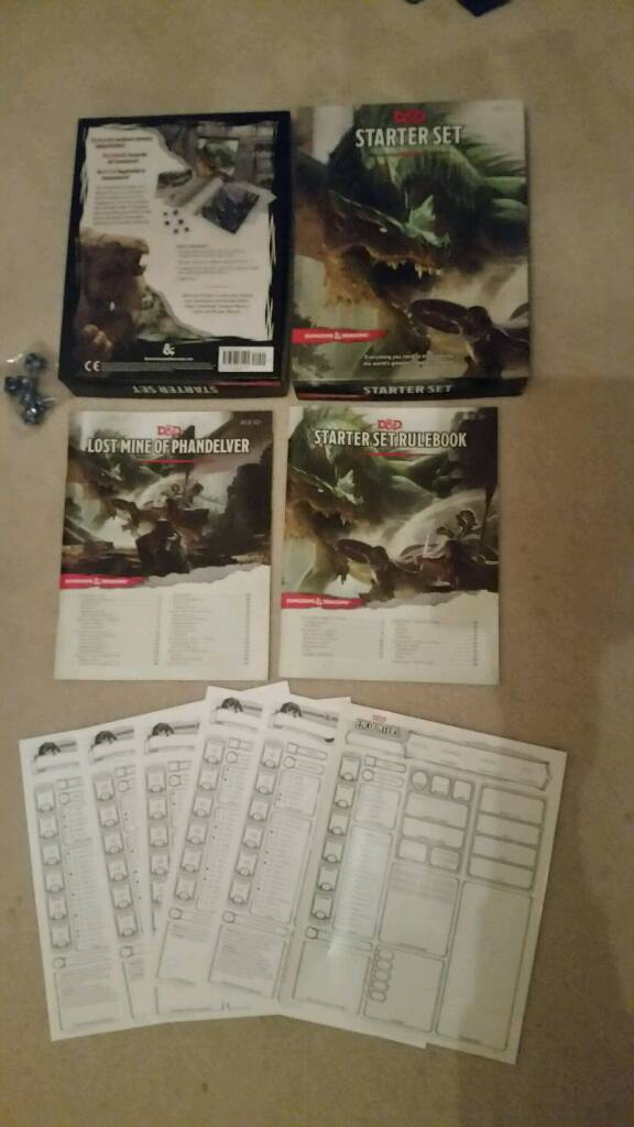 Dungeons & Dragons Starter Set (New, Unsealed) | in Boldon Colliery, Tyne  and Wear | Gumtree