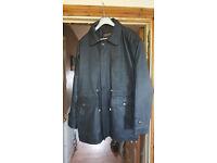 Territory Clothing Company Mens Black Leather Jacket.