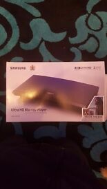 Samsung Dvd player UBD k8500. Latest model . Top of the range . Comes with Dvds in the box