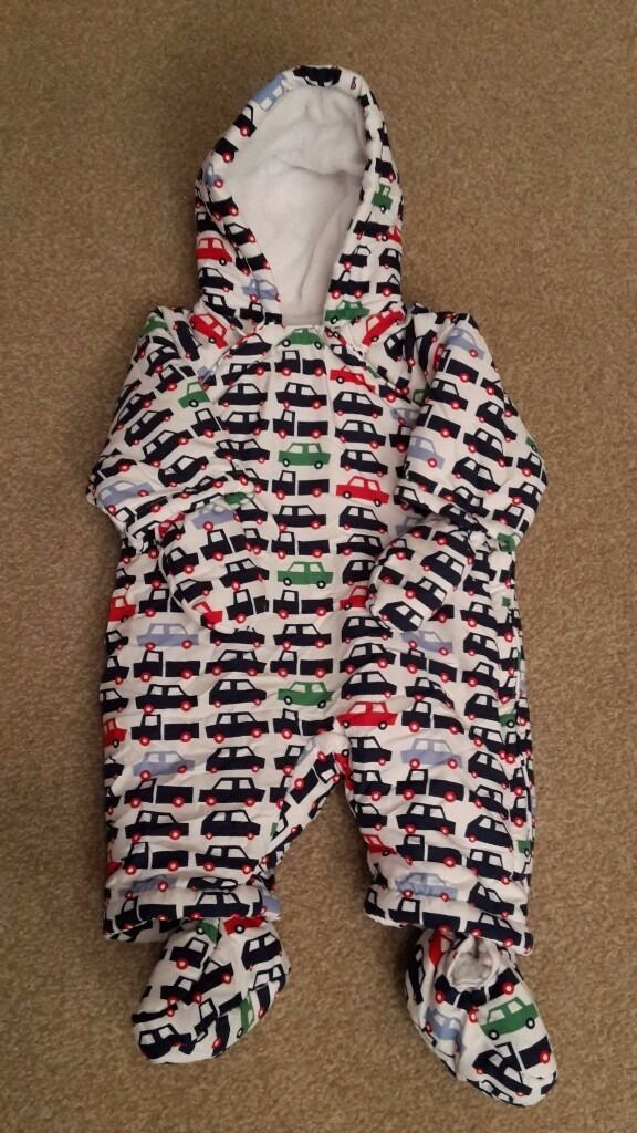 Mothercare Snowsuit / Pramsuit 0-3 months Excellent Condition