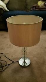 Chrome Lamp w. Shade