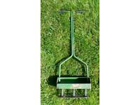 The 'Graham' Sprung 3 Pronged Lawn Aerator (Vintage)
