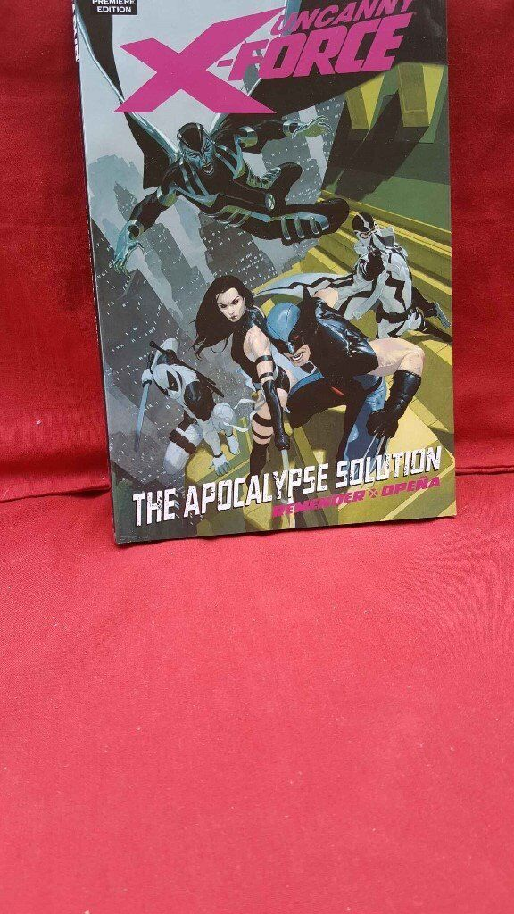 Marvel Premiere Edition of X FORCE UNCANNYTHE APOCALYPSE SOLUTION in hardbackin Twyford, BerkshireGumtree - MARVEL premiere edition of X FORCE UNCANNY THE APOCALYSE SOLUTION Hardback ISBN 978 0 7851 4854 8 sourced from US $19.99