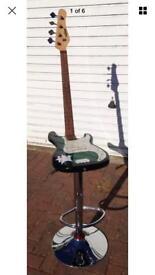 Guitar bar stool