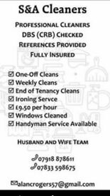 professional cleaning service .