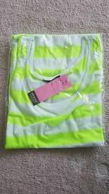 Muse German Designer Yellow T-shirt Brand New Size 10 Ladies Women