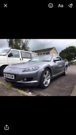 Mazda rx8 swaps car or van
