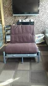 Folding guest bed/chair