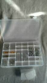 JEWELLERY MAKING CHARMS + CASE