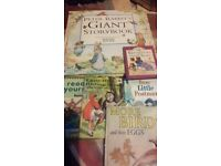6 classic childrens books, beatrix potter, ladybird, bundle