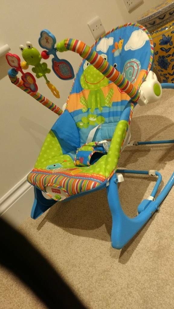 Fisher Price Infant To Toddler Rocker Bouncy Chair In Exeter