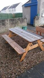 Garden Bench for sale, Garden Seating/Garden Table/Picnic Bench/Picnic Table
