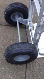 Barrier trolley aluminium