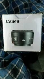 Canon 50mm EF f1.8 ll