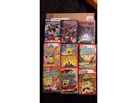 Children's Dvds including Sponge Bob
