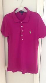 Woman's Ralph Lauren polo shirt