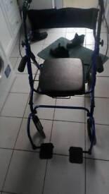 Walker come wheelchair