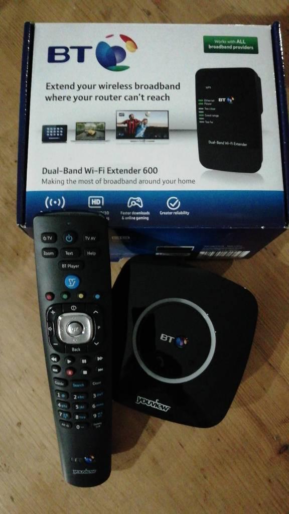 TV 'set top box' and Wireless router 'extender'  | in Aberdeen | Gumtree