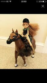 Moxie girl with horse