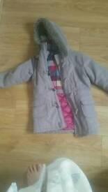 Girls duffel coat