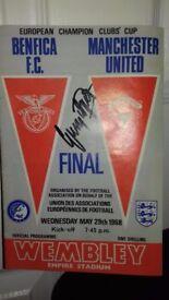 1968 european champion clubs cup final programme