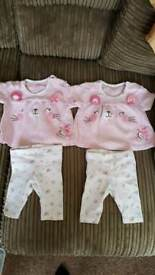 up to 1 month baby girls clothing