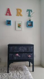 Lovingly restored Flamingo chest of drawers