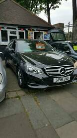 MERCEDES E220CDI SE 15/2015 AUTOMATIC 1 OWNER 70K MILES HPI CLEAR