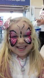Face Painter, Balloon Modeller,Body Painter and Theatricl Make Up