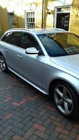 Audi A4 S.Line Estate Diesel on a 2010 Reg