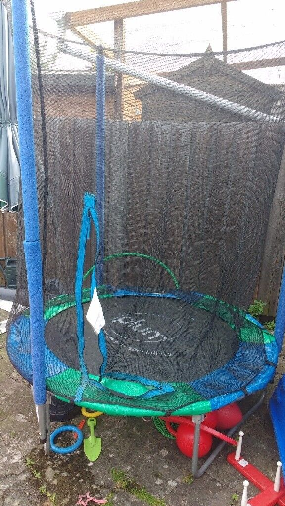 Plum 4 5ft Trampoline With Enclosure Hereford