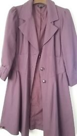 Ladies summer coat/jacket from Top shop Size 12