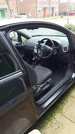 Black corsa 1.2 64 plate sadly got to get rif cos need bigger car for family