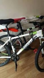 2 top of the range bikes