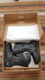 TCX Motorcycle Boots Black - Brand new with box - EU size 43