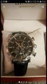 36baeca3af30 Armani Watch men s brand new warranty