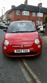 2012 Fiat 500 turbo twin air for sale