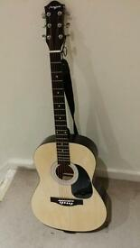 Martin Smith Acoustic guitar with Bag - Like New condition (Fully tuned)
