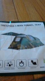 5 man tent excellent condition