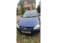 Automatic 2005 vauxhall corsa ultra blue