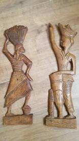 Wooden wall plaques
