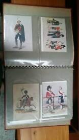 Regimental military postcards